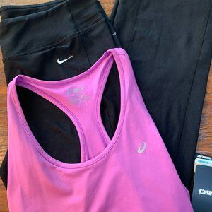 New workout BUNDLE (Asics & Nike)